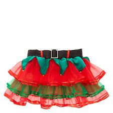 Claire's Christmas Holiday Elf RuffleTutu Skirt Girl's/Women's Junior Size M/L