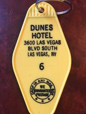 "LAS VEGAS inspired ""Dunes Hotel"" Keytag, keyfob"