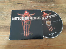 CD VA Metal Blade Records (10 Song) Promo METAL BLADE cb