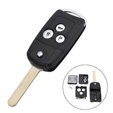 3 Button Remote Flip Key Fob Shell Upgrade For Honda Civic Accord Jazz CRV HRV