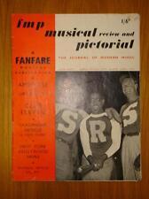 FANFARE MUSICAL PUBLICATION REVIEW VINTAGE 1940'S MUSIC
