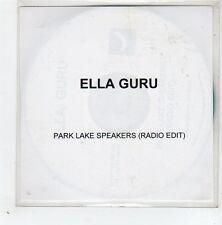 (GD776) Ella Guru, Park Lake Speakers - 2004 DJ CD