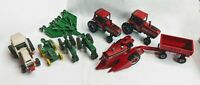 1/64 Tractors, Machinery & Implements: John Deere, Case IH, International
