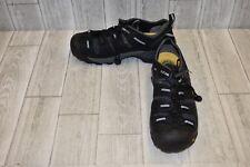 Keen Atlanta Cool Steel Toe Work Shoes - Men's Size 10 D - Black DAMAGED