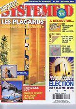 Système D n° 585 Les Placards ranger en décorant - balcon terrasse en bois