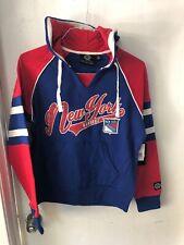 New York Rangers Women's Large Hoodie Sweatshirt GIII New Nhl Hockey Blue Sports