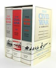 The Civil War A Narrative Three Volume Boxed Set Shelby Foote Folio Society 2010