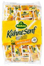 (1000g=3,93€) Kühne Senf mittelscharf Portionsbeutel - 150 Stück je 10 Gramm