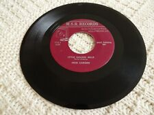 FRED CARSON LITTLE GOLDEN BELLS/I WILL KNOW  M.S.R. 713 SONG POEM RECORD