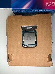 Intel Core I7-6700K Processor 4.0GHz, 4 Core, 8 Threads, LGA1151