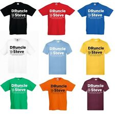 Personalised DRUNCLE Uncle Mens T-Shirt Christmas Gift for Him S-XXL Drunk Uncle