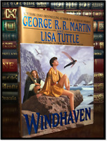 Windhaven ✎SIGNED✎ by GEORGE R.R. MARTIN Like New Hardback 1st Edition & Print