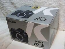 Pentax K3 K-3 - 24.35MP fotocamera reflex digitale corpo-condizioni eccellenti con scatola