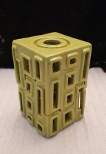 PartyLite P90622 Contempo Green Reed Diffuser & Tealight Holder Nib MidCentury