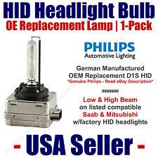 OE HID Headlight Hi/Low GENUINE German PHILIPS fits Select Saab & Mitsubishi D1S
