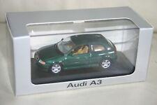 Minichamps 1:43 Audi A3 KaktusGrün 3-türig Typ 8L Nr.13.103.0 in OVP Top Zustand