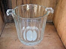 Estee Lauder Vintage Crystal Bath Vanity Display Dish & Perfumed Guest Soap