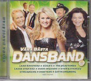 """Various Artists - """"Våra Bästa Dansband 8"""" - 2012 - CD Album"""