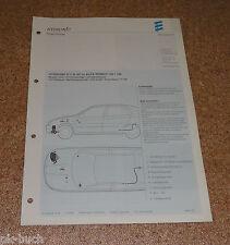 Einbauanleitung Eberspächer Standheizung D 5 W SC für Alfa Romeo 145 / 146 07/00
