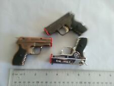 Fox Butane Pistol Shaped Lighter New