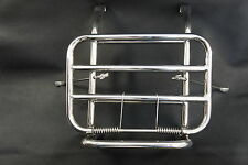 LAMBRETTA S3 Li SX TV GP Front Folding Luggage Rack Stainless Steel Fits all!