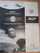 1946 Tissot Automatic The Modern Watch Advertisement
