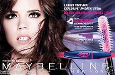 Maybelline Volum'Express Volum Volume Express The Rocket Mascara 10ml Free Ship