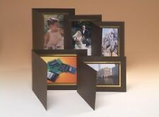 Kenro 10x8 Brown View Format Photo Folders with Gold Trim Box of 50