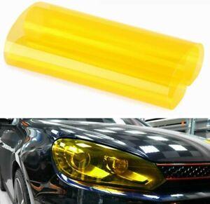 Scheinwerfer Folie Tönungsfolie Auto Wasserdicht Aufkleber 120cm x 30cm GELB