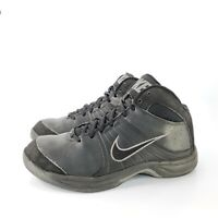 Nike Overplay VI Athletic Basketball Shoe Mens Size 7.5 443456-002 Black Gray