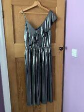 Ladies silver Envy Dress Size 16