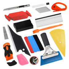 Window Tint Kit Car Wrapping Application Tools, Decal Vinyl Squeegee Scraper UK
