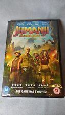 jumanji - Welcome to the jungle DVD (2017) new sealed