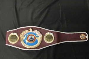 MIKE TYSON SIGNED WBO CHAMPIONSHIP BELT REPLICA BOXING JSA COA JB1412