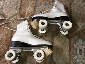 Vintage RiedelRoller Skates Sure Grip Trucks ,wheels Super X 4L, Size 6, Women's