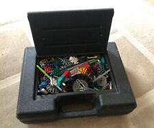 Mixed Box Of K'Nex In Black Carry Case - No Instructions