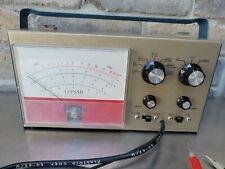 Vintage Conar Radio Institute Ohm Volt Meter Model 212 Excellent Condition