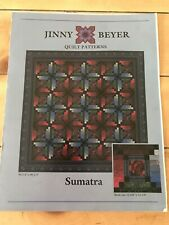 Jinny Beyer Quilt Pattern Sumatra Skill Level Beginner