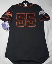 MAJESTIC AUTHENTIC 44 LARGE, SAN FRANCISCO GIANTS TIM LINCECUM, FLEX BASE Jersey