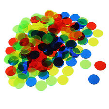 500x Bingo Chips Markers Fun Family Club Games Casino Accessory Mixed Color