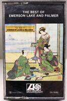 The Best Of Emerson Lake & Palmer Cassette Tape CS 19283