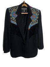 Women'S Cowboy Jacket Western Vintage Criscione Blazer Petite