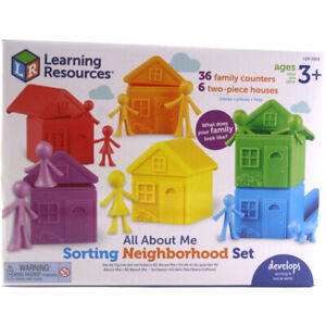 Learning Resources All About Me Sorting Neighbourhood Set - LER3369
