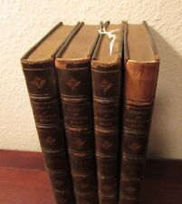 Works of Alexander Pope set of 4 volumes 1835 Half green leather