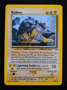 Raikou - 13/64 - Holo Unlimited Neo Revelations Unlimited