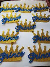 """10pcs 8"""" Prince crown decorations"""