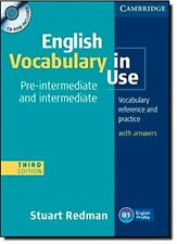 English Vocabulary in Use Pre-intermediate and Intermediate with Answers and CD-