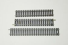 "Bachmann HO Train 7-1/2"" and Two 6"" Straight Snap Tracks Set #29 Used"