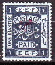 Transjordan, 1922, SG.# 31b,  CV$ 500 ,scarce,(2), MH *