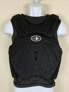 Century Adult Size S Black Sparring Chest Protector Slip On Foam